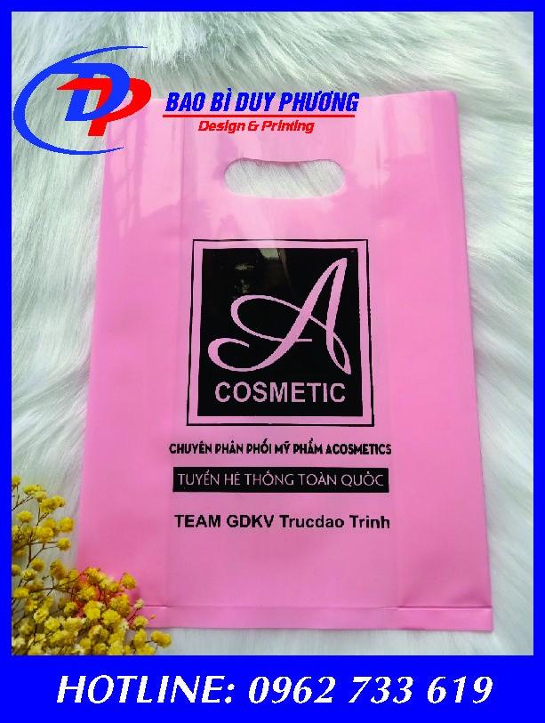 Túi nilon đựng mỹ phẩm giá rẻ